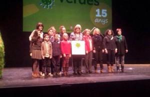 La FEDAC Ripollet rep el distintiu d'Escola Verda
