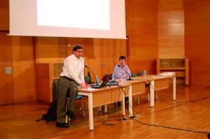 Francisco Ferrer és economista al seminari Taifa