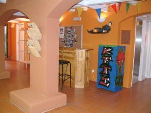 El Kftí, espai provisional de la sala