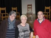 D'esquerra a dreta, Jordi Sans, Marta Figueres i Joan Nonell // Sergi Bayó