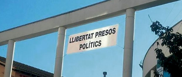 Pancarta Presos